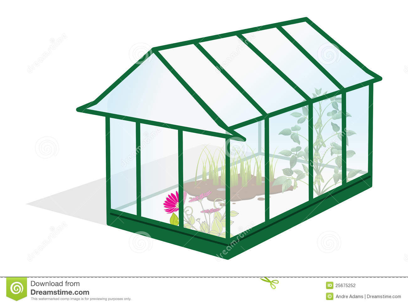 Greenhouse Stock Photography - Image: 25675252