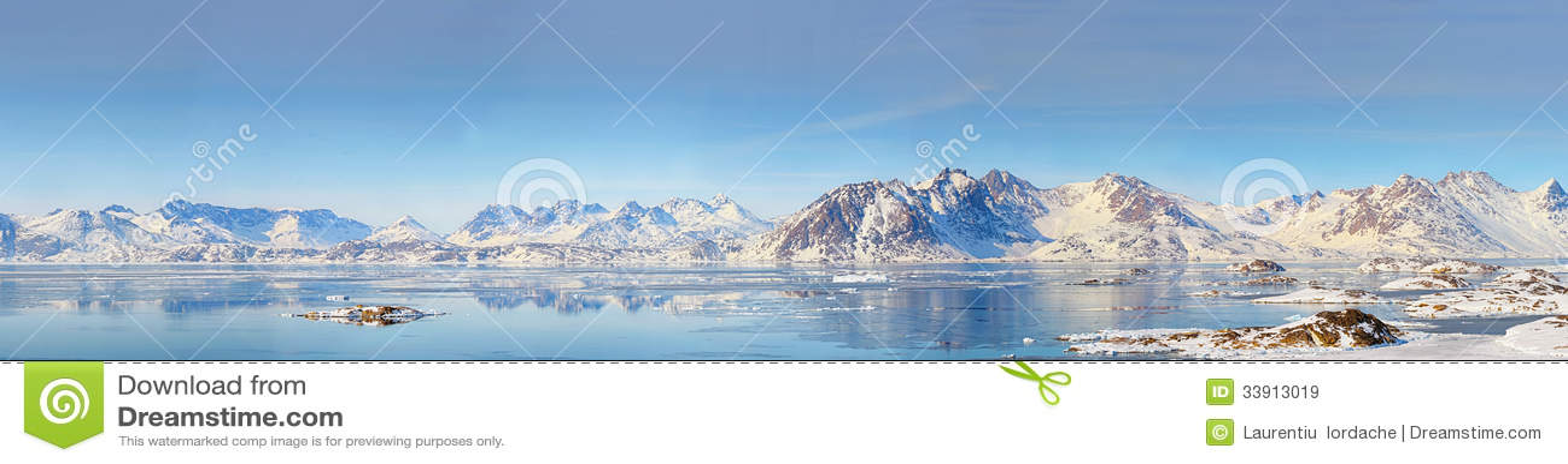 Greenland panorama
