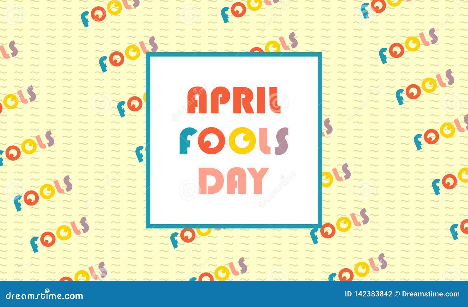 Greeting april fools day