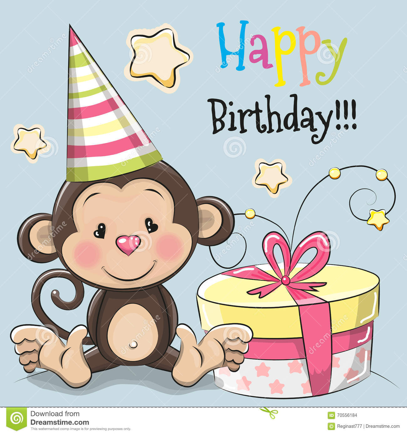 Monkey Animated Birthday Cards Pictures to Pin – Birthday Card Monkey