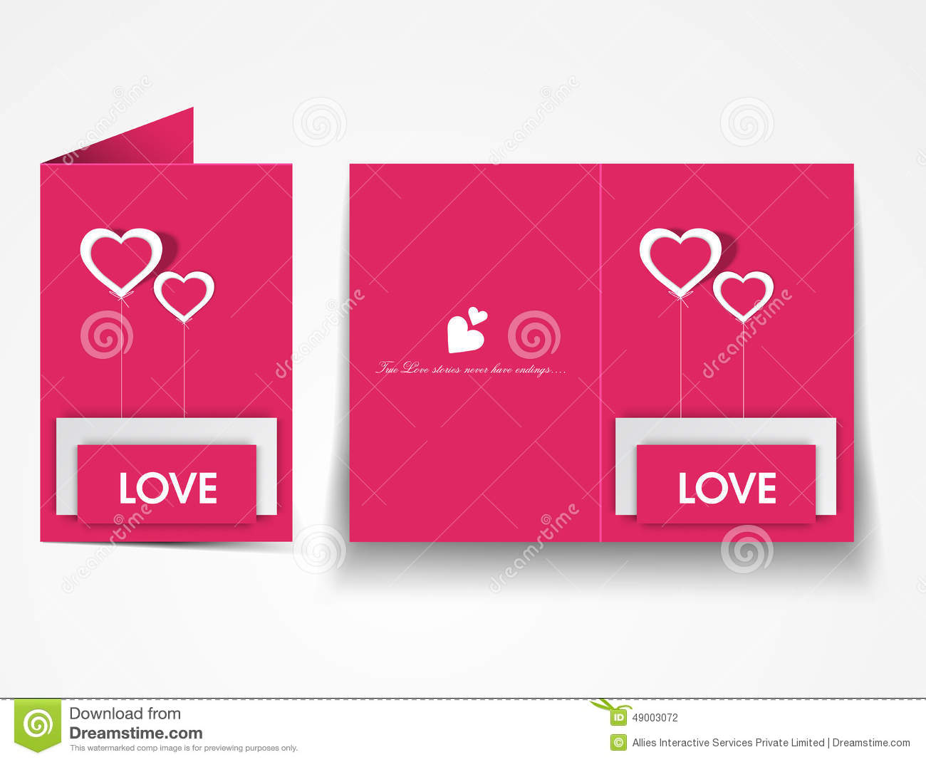 Greeting card design for happy valentines day celebration stock download comp m4hsunfo