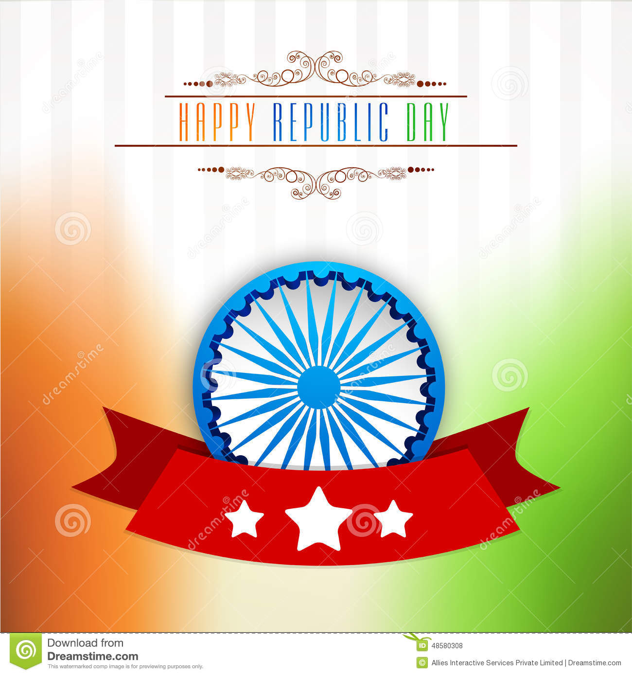 Greeting card design for indian republic day celebration stock greeting card design for indian republic day celebration stock illustration illustration of design holiday 48580308 m4hsunfo