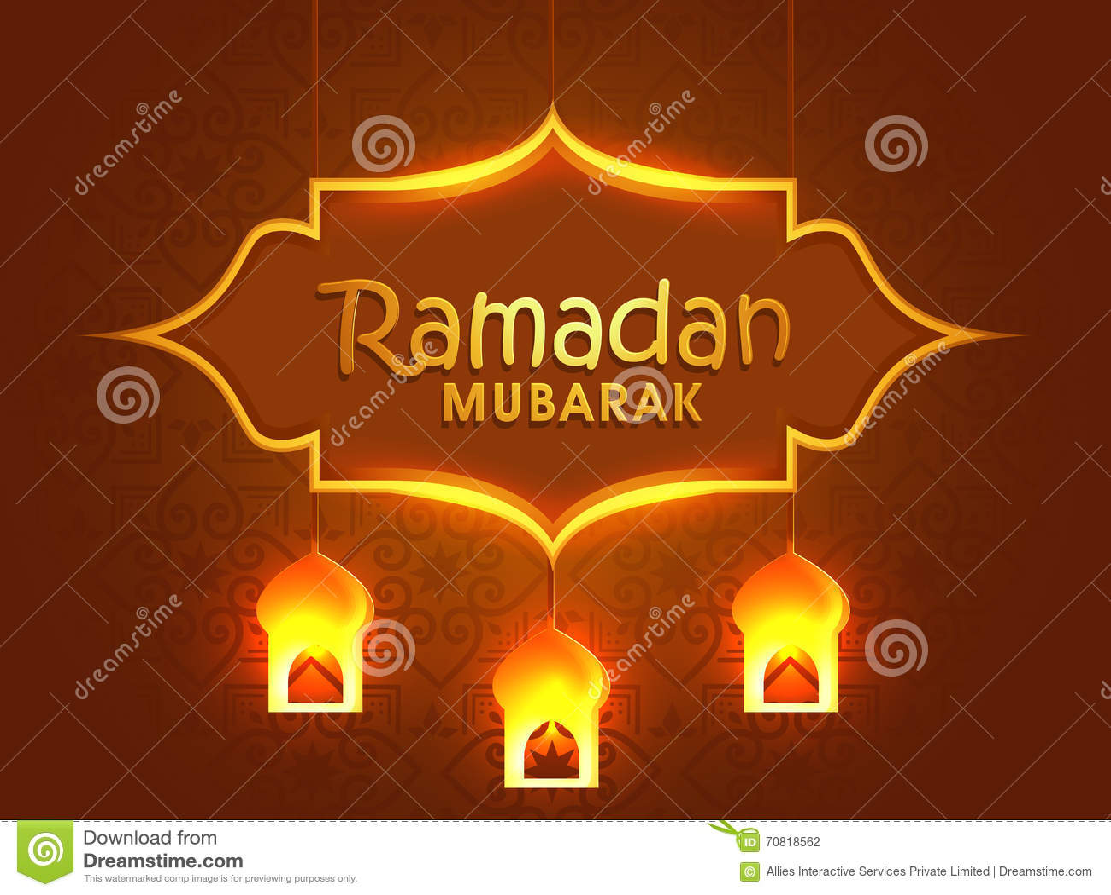 Greeting card design for ramadan mubarak stock illustration greeting card design for ramadan mubarak m4hsunfo