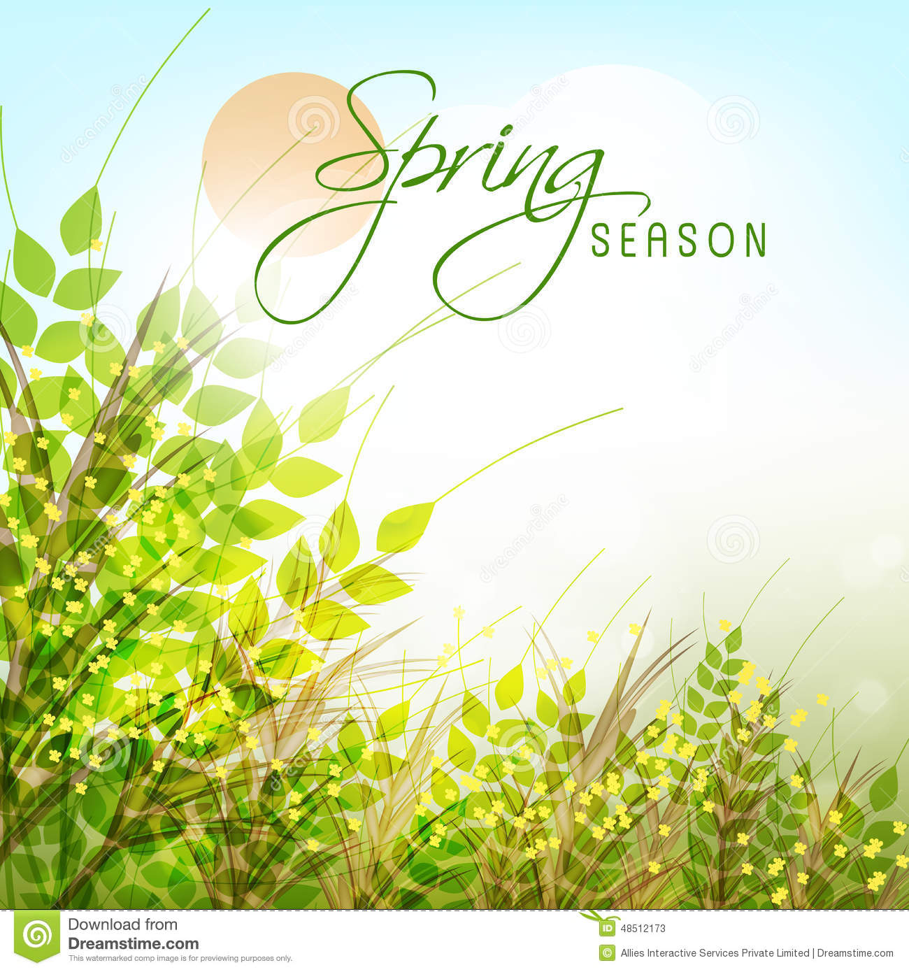 spring photo cards