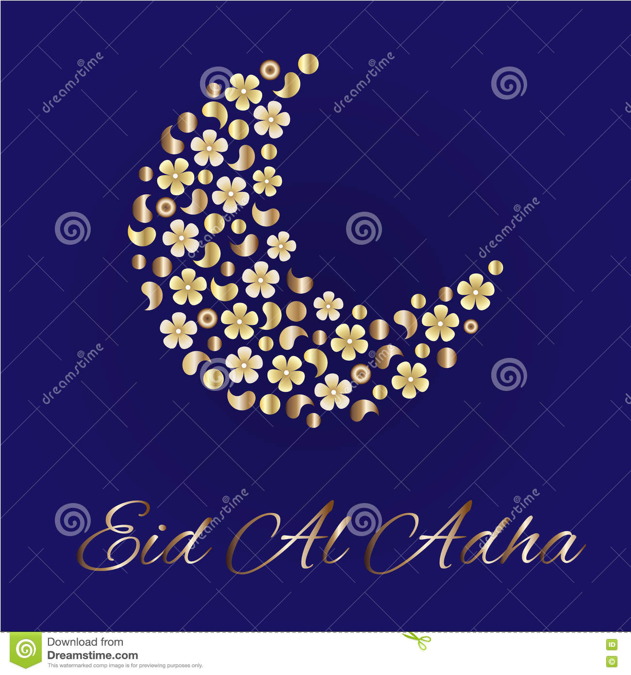 Greeting card for eid al adha stock vector illustration of greeting card for eid al adha kristyandbryce Image collections