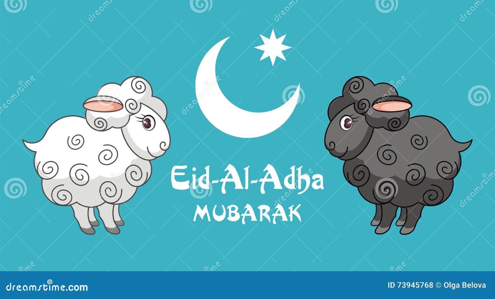 Greeting card eid al adha stock vector illustration of sacred greeting card eid al adha kristyandbryce Images