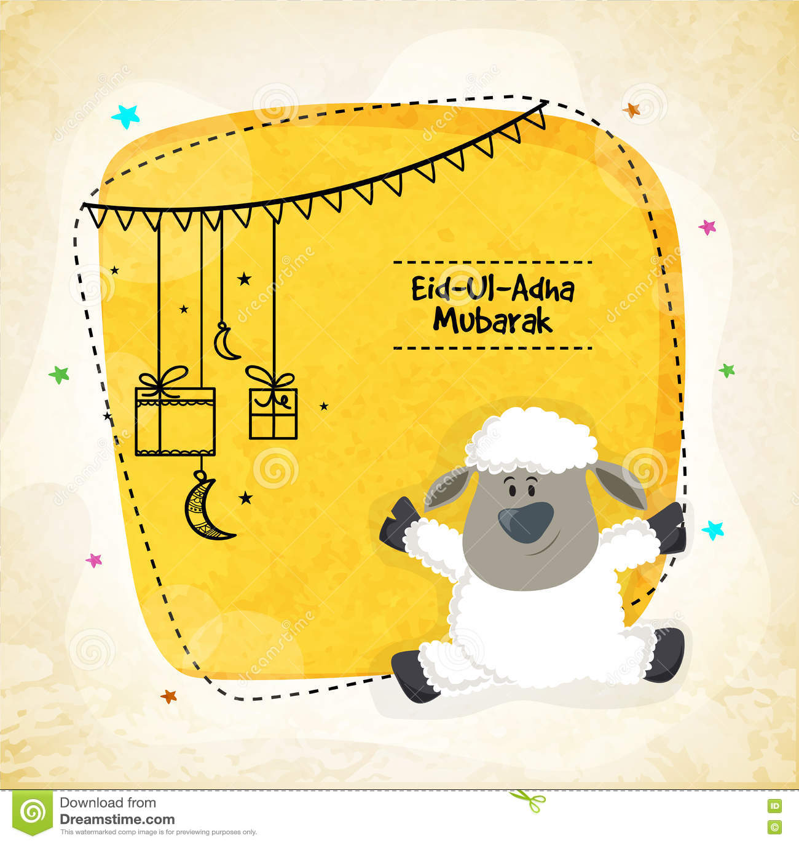 Greeting card for eid al adha mubarak stock illustration download greeting card for eid al adha mubarak stock illustration illustration of m4hsunfo