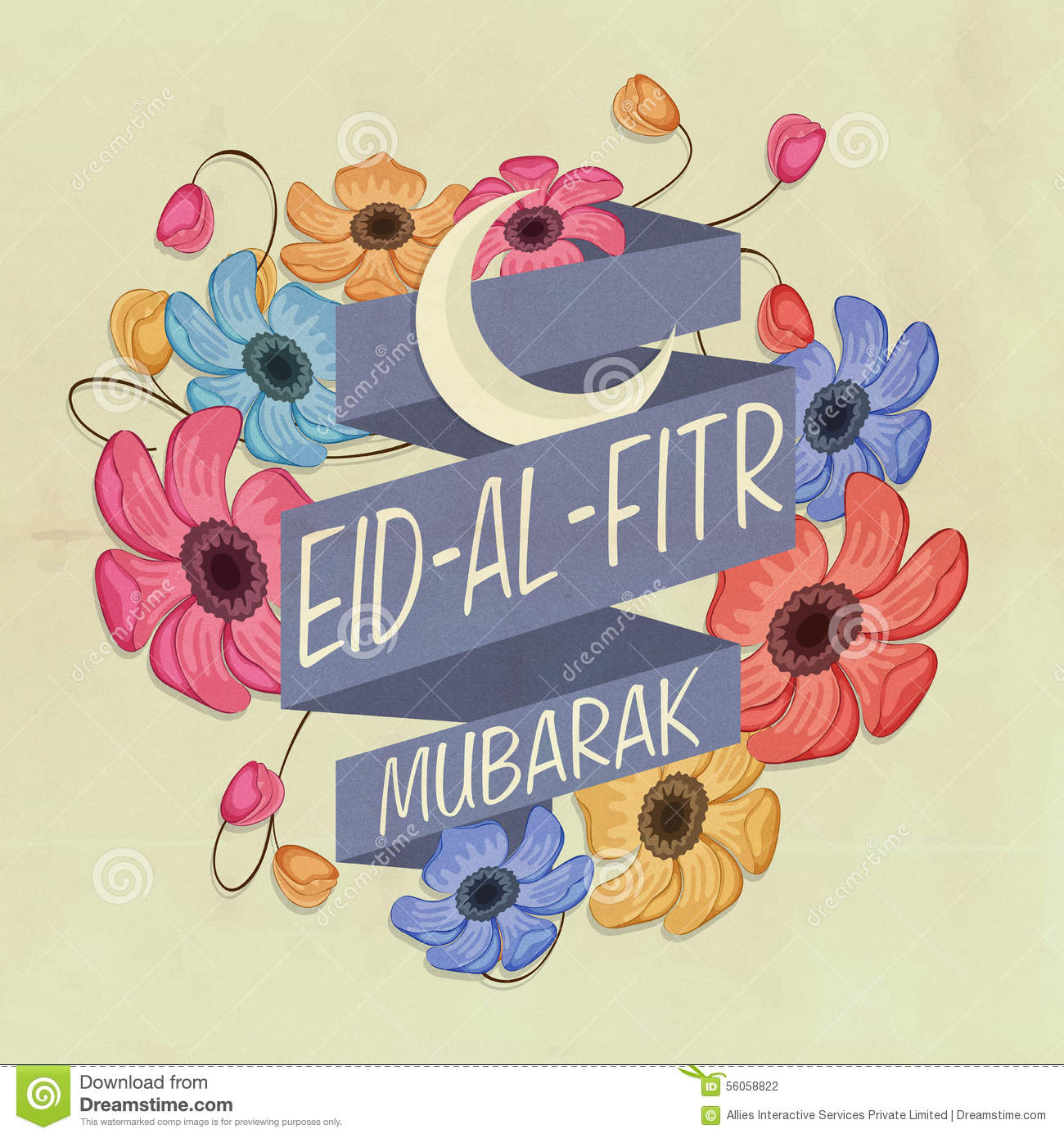 Best Moon Star Light Eid Al-Fitr Decorations - greeting-card-eid-al-fitr-festival-celebration-beautiful-flowers-decorated-ribbon-crescent-moon-stylish-text-islamic-56058822  Trends_903728 .jpg