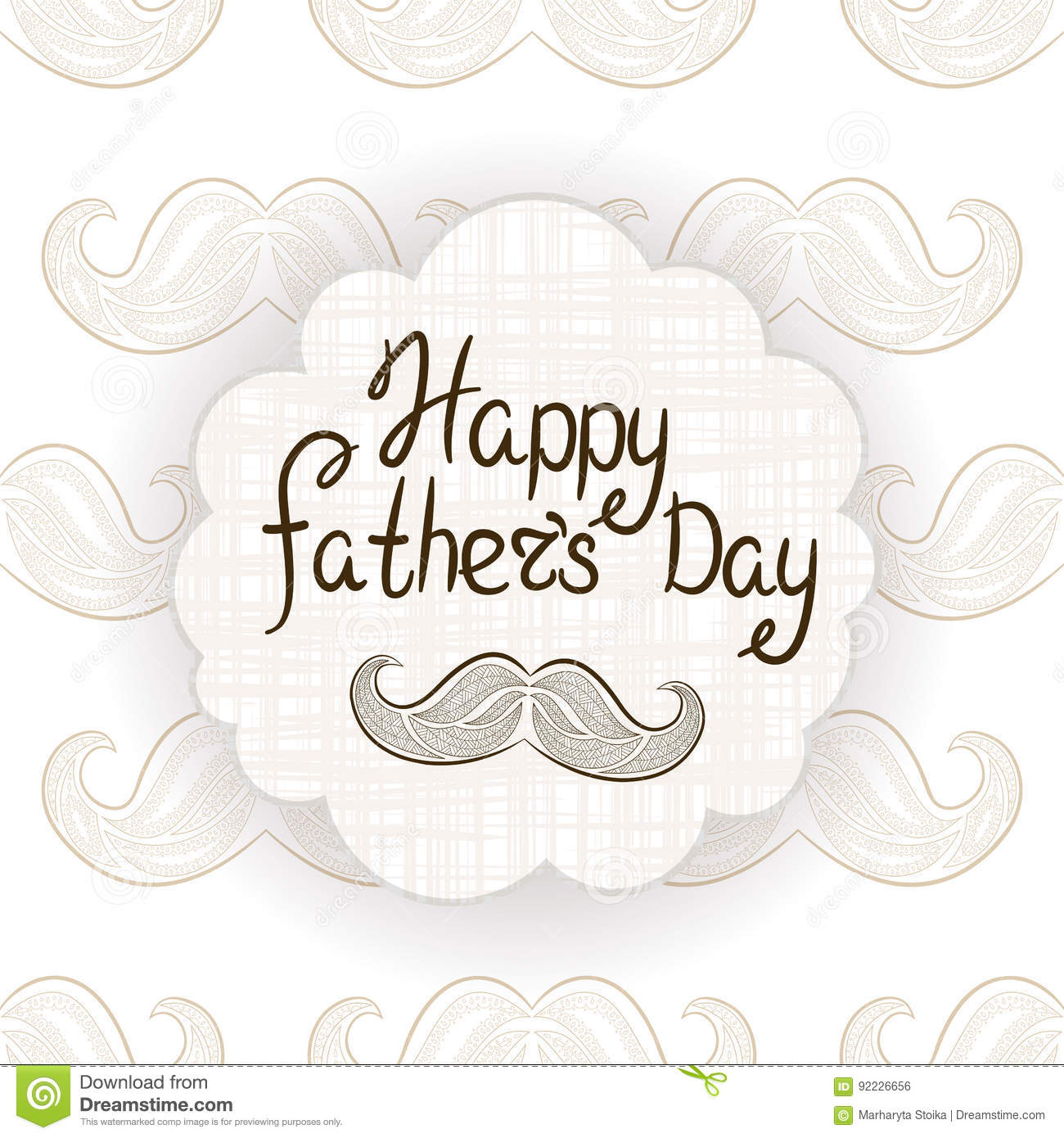 Greeting card for fathers day vector postcard with mustache download greeting card for fathers day vector postcard with mustache typography m4hsunfo