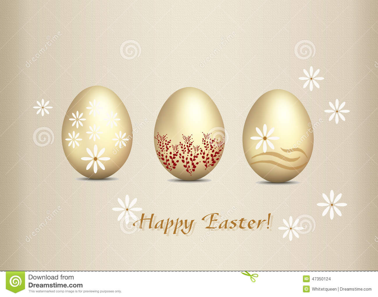 Greeting card happy easter stock photo image of painting 47350124 greeting card happy easter kristyandbryce Images