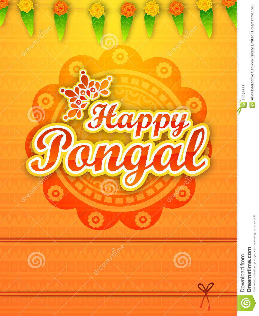 Greeting card for happy pongal celebration stock illustration download greeting card for happy pongal celebration stock illustration illustration of event greeting m4hsunfo