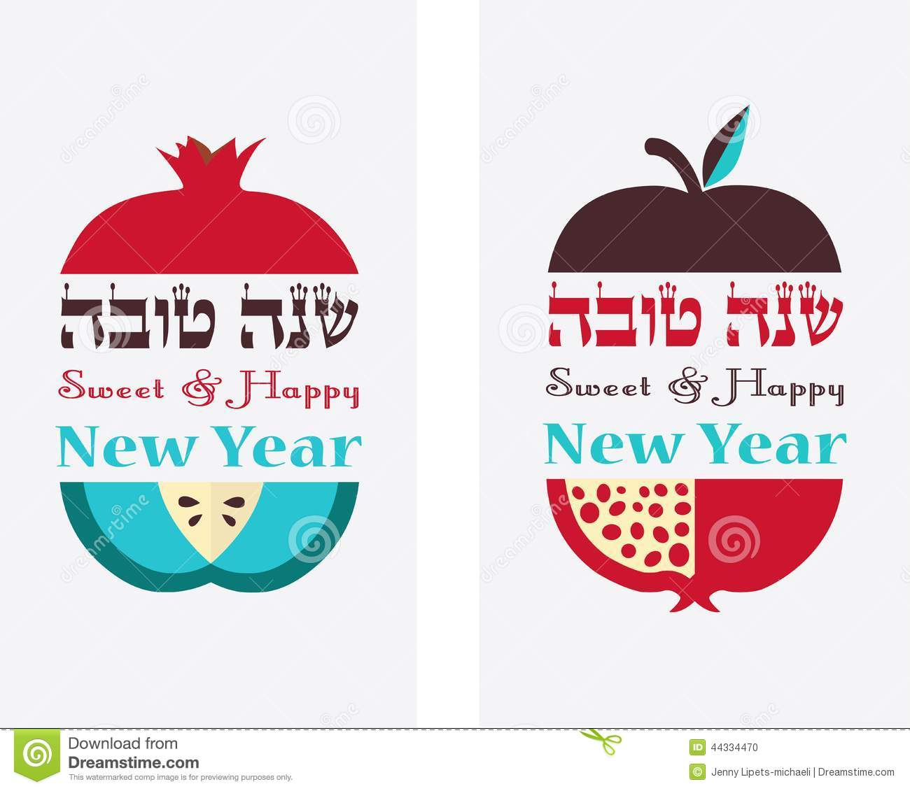 Greeting card for jewish new year hebrew happy new year with greeting card for jewish new year hebrew happy new year with traditional fruits kristyandbryce Image collections