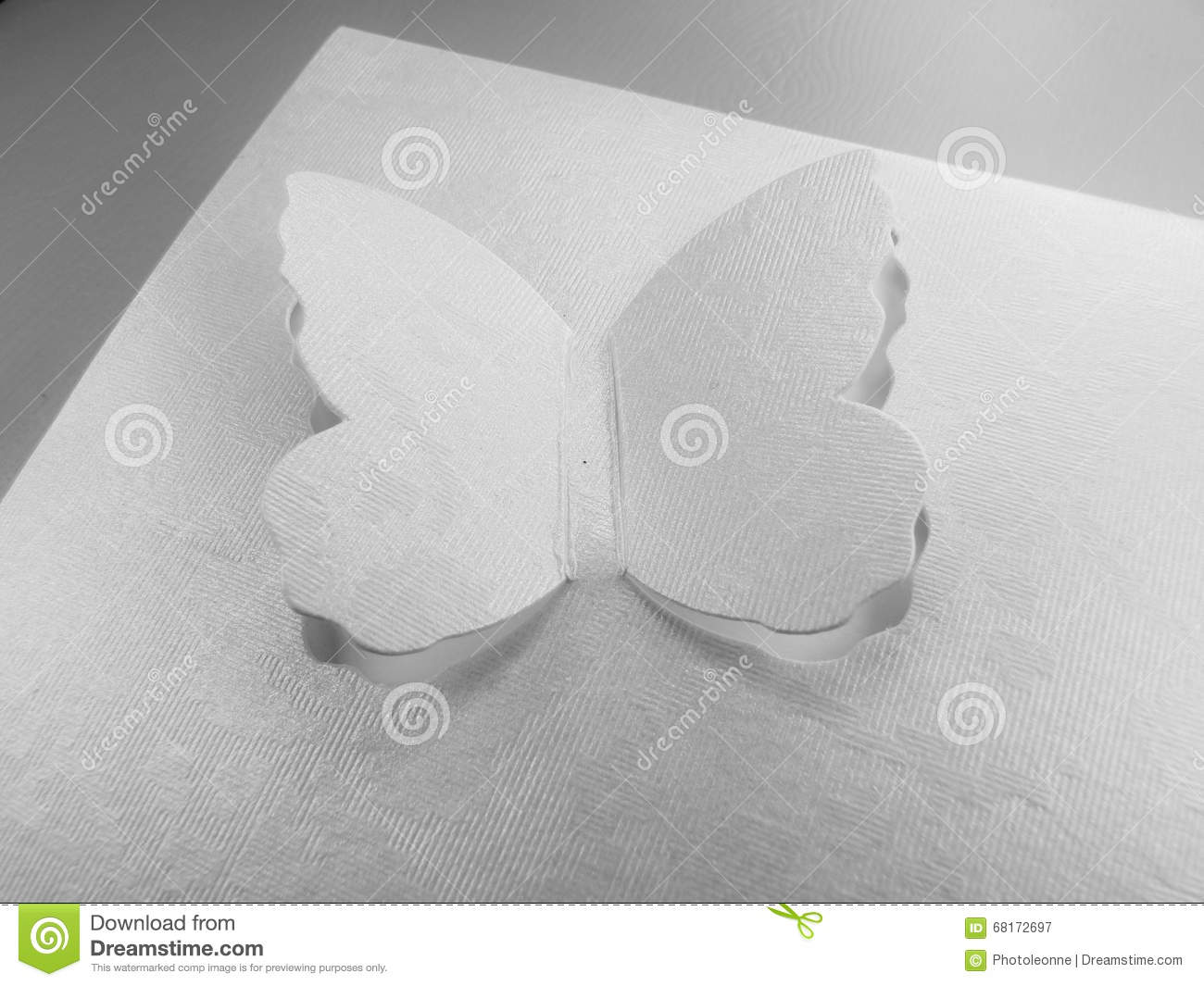 Greeting Card Lace Design Butterfly Stock Image - Image of paper ...