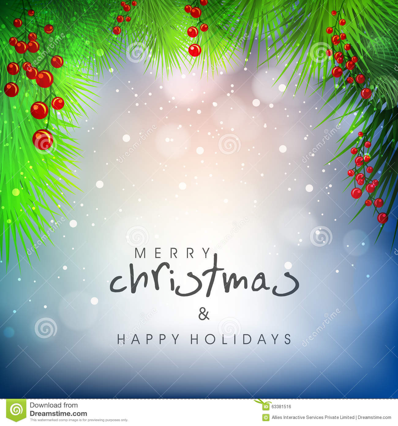 Greeting card for merry christmas and happy holidays stock download greeting card for merry christmas and happy holidays stock illustration illustration of congratulation m4hsunfo
