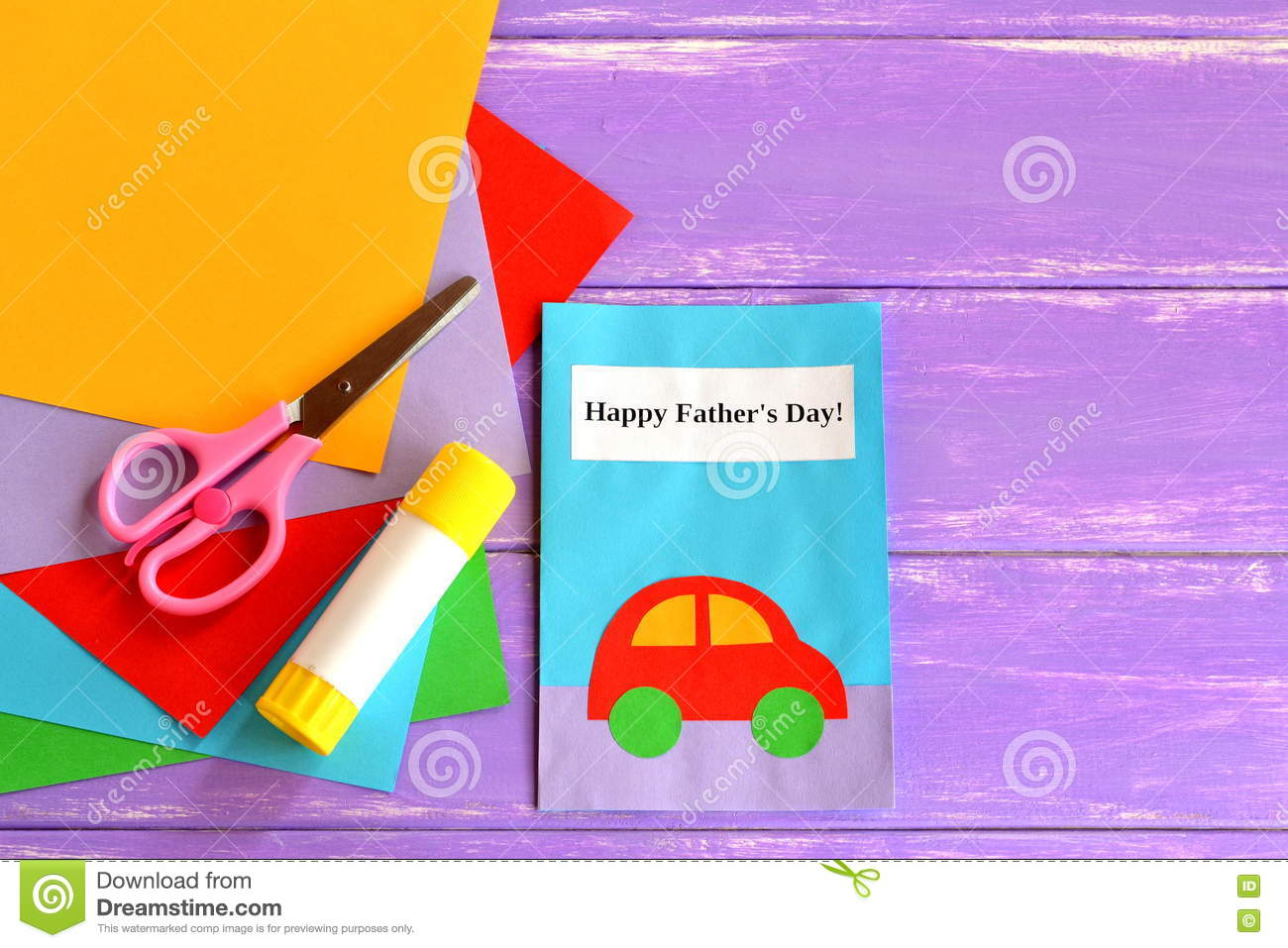 Greeting card with message happy fathers day fathers day crafts download greeting card with message happy fathers day fathers day crafts cards ideas suitable for m4hsunfo