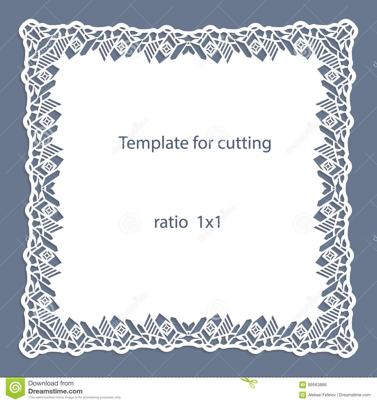 how do you cut a square wedding cake greeting card with openwork border paper doily the 15379