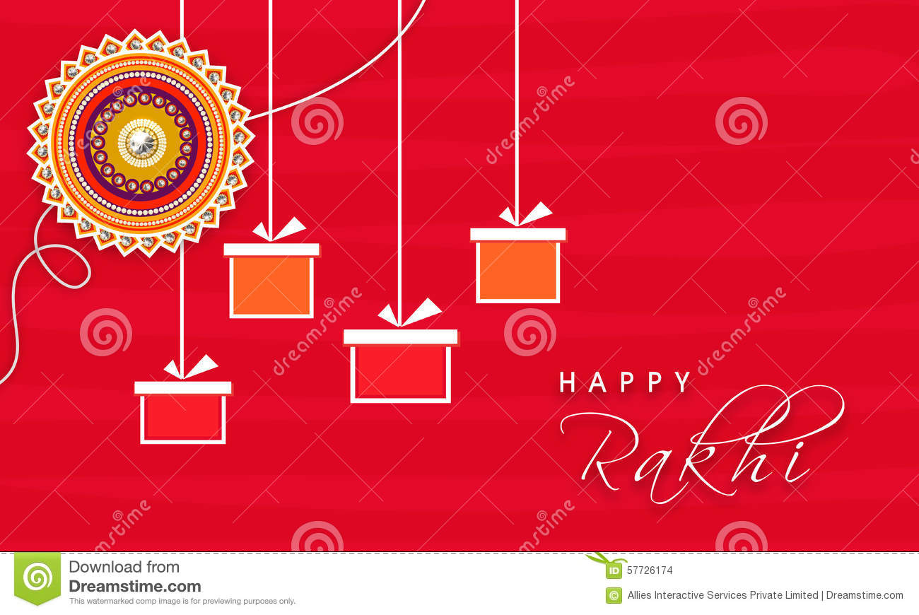Greeting card for raksha bandhan celebration stock illustration download comp m4hsunfo
