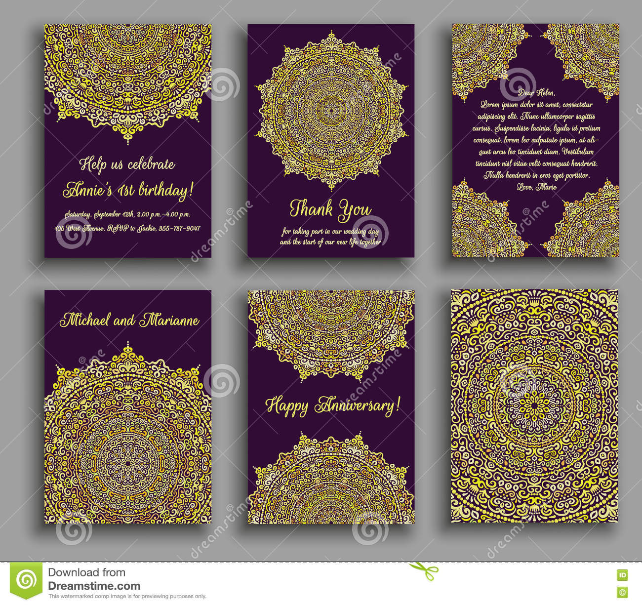 Greeting cards golden luxury stock vector illustration of arabic greeting cards golden luxury kristyandbryce Images