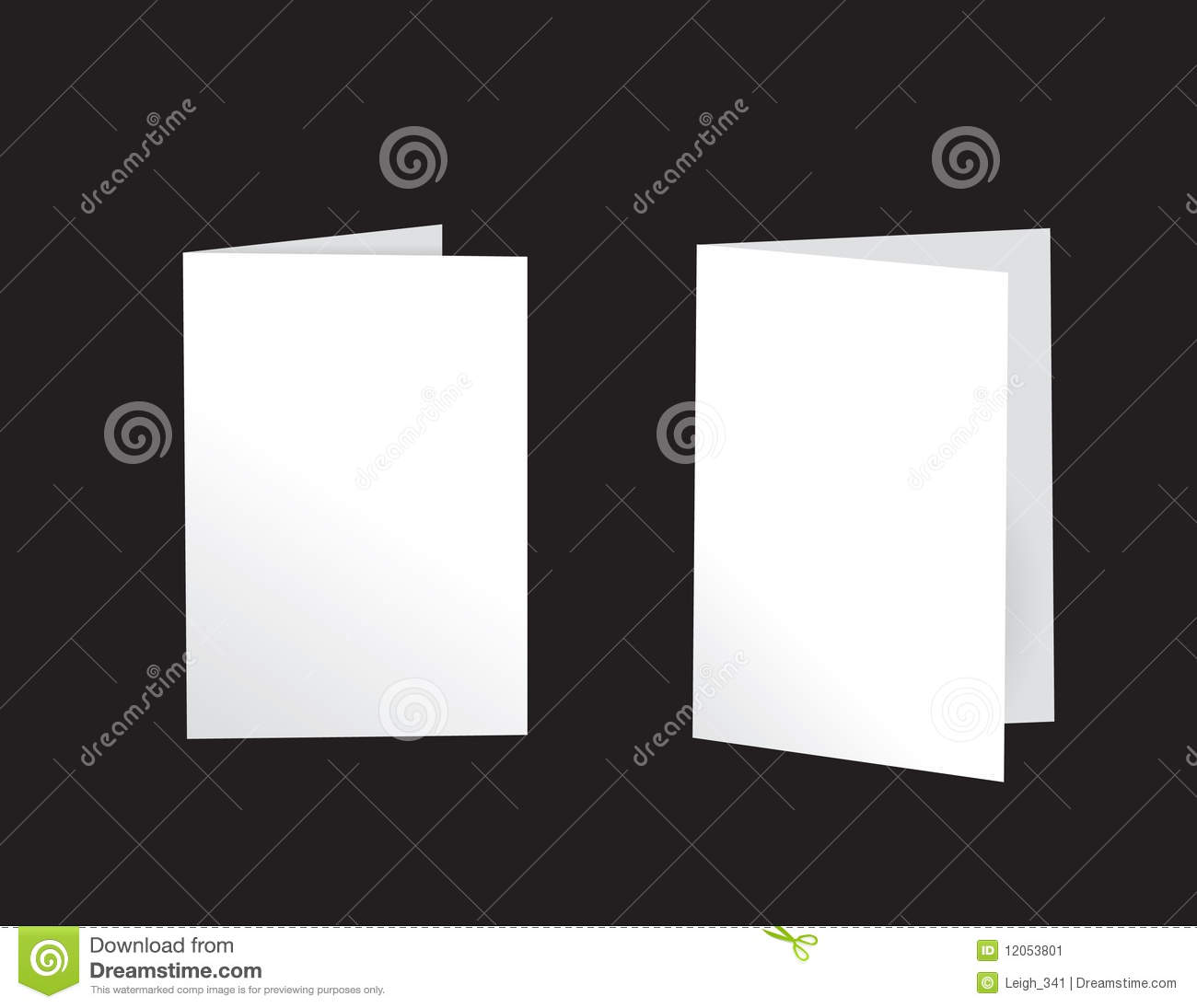 greeting cards - standing stock image