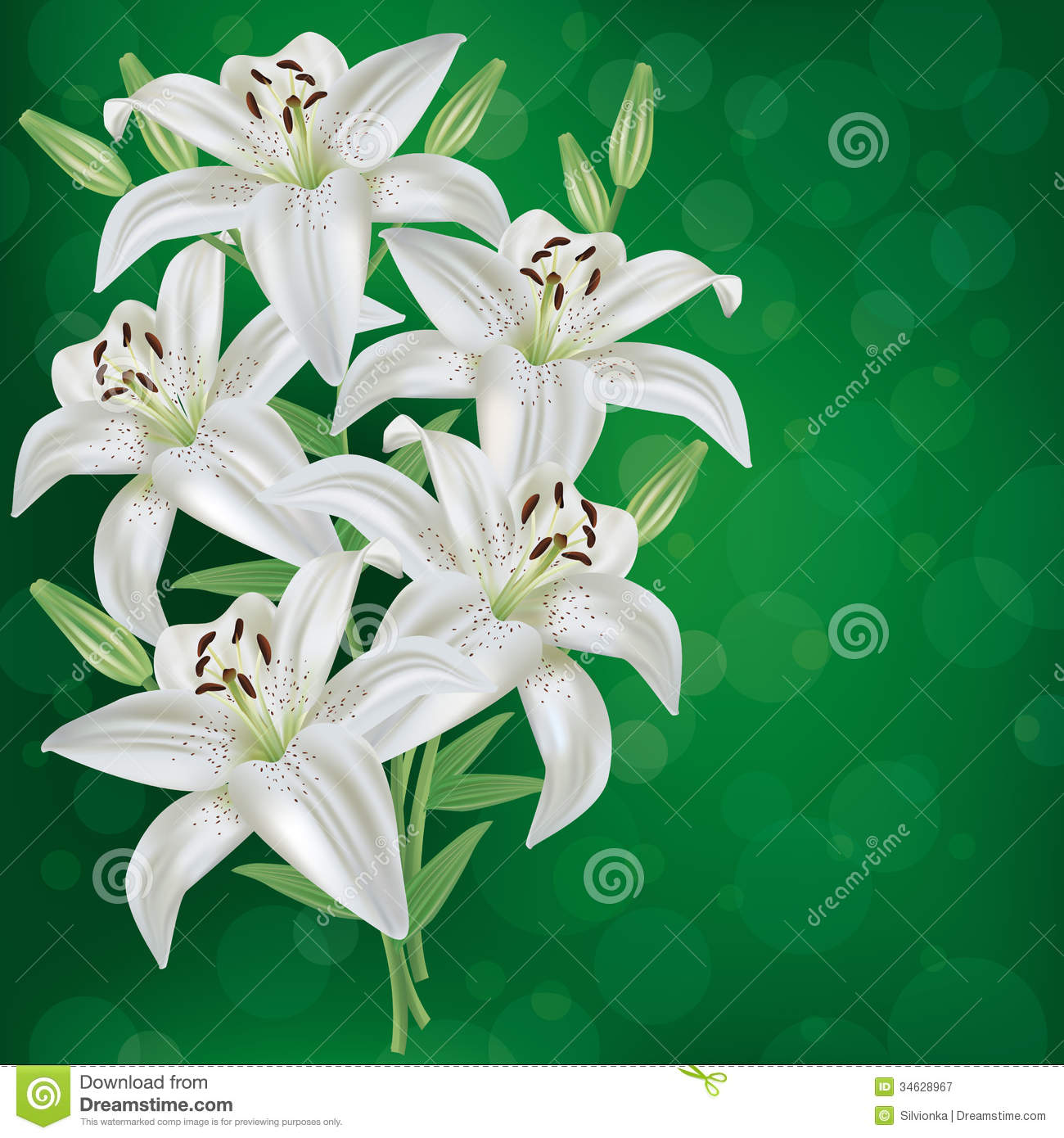 green lily love - photo #6
