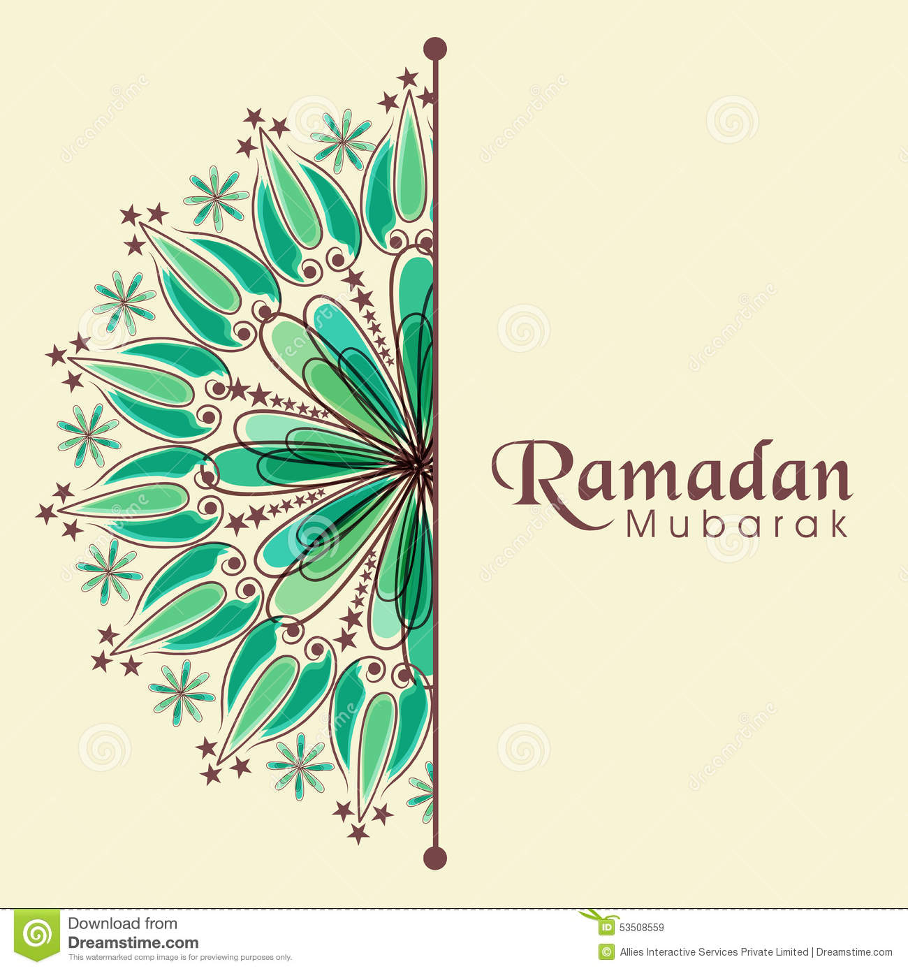 Greeting or invitation card for ramadan kareem celebrati stock greeting or invitation card for ramadan kareem celebrati stopboris Images