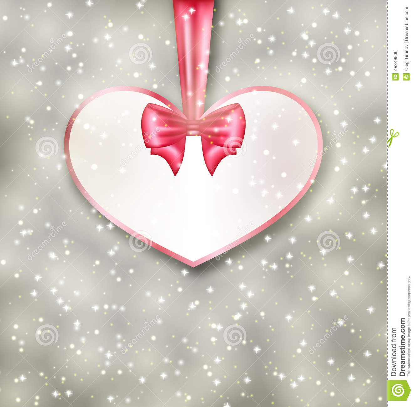 Greeting Paper Card Made Of Heart Shape Valentine Day Vector – Heart Shaped Valentine Cards
