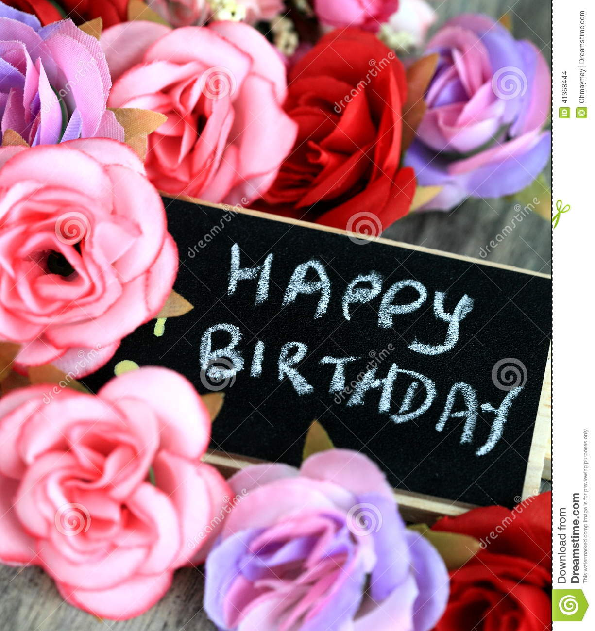 Greetings For Birthday Stock Photo Image Of Card Background 41368444