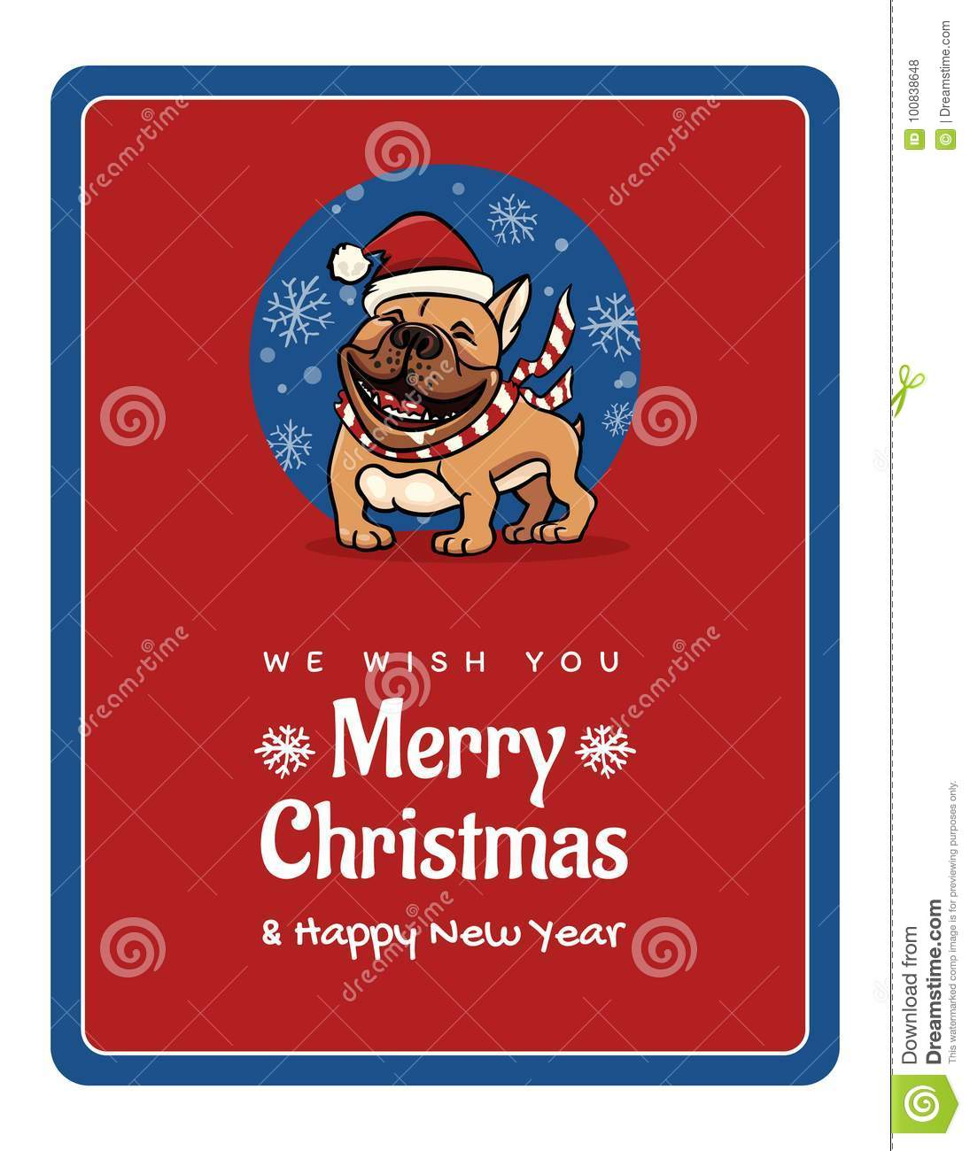 Greetings card we wish you a marry christmas and happy new year greetings card we wish you a marry christmas and happy new year funny english bulldog m4hsunfo