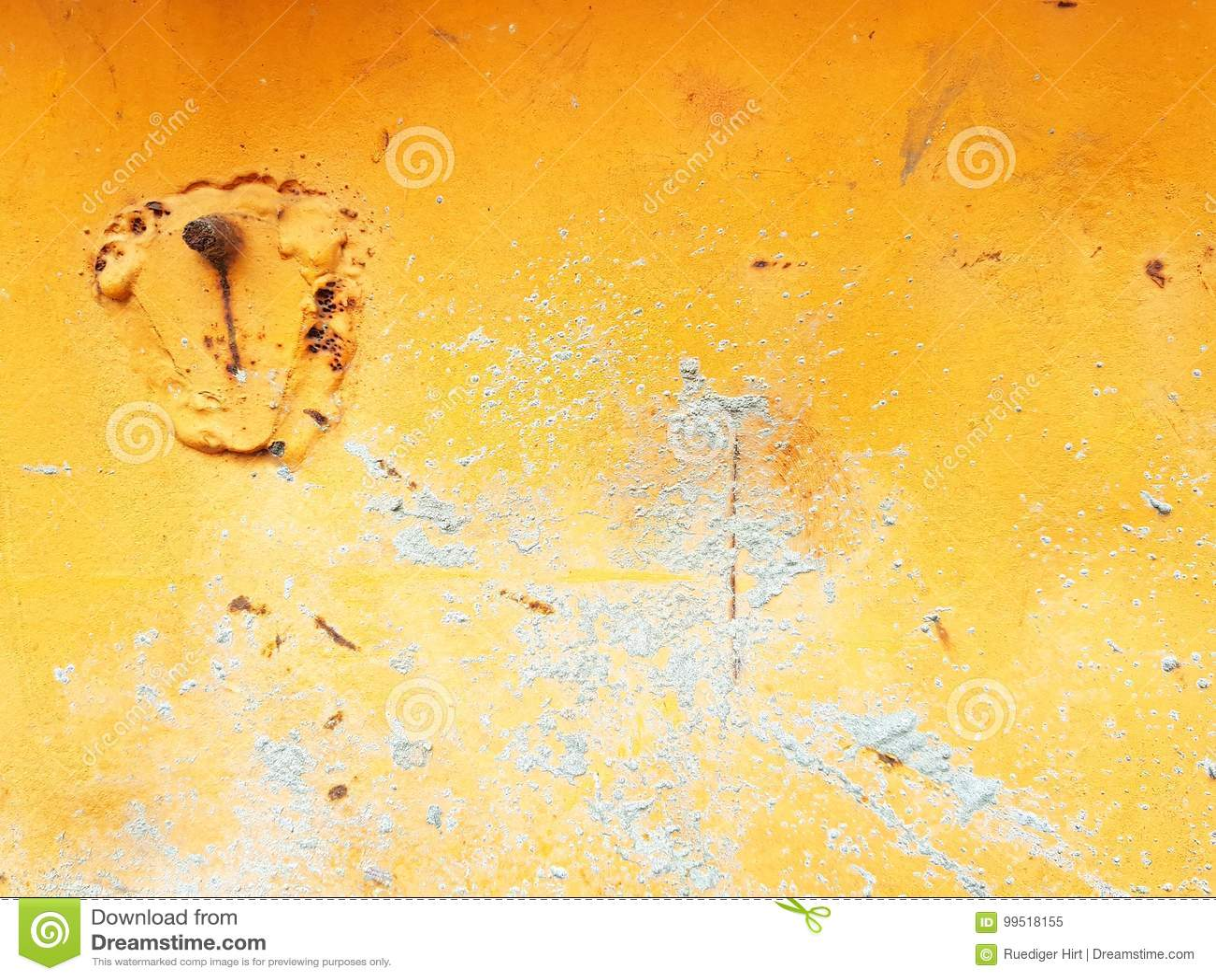 Greey na laranja