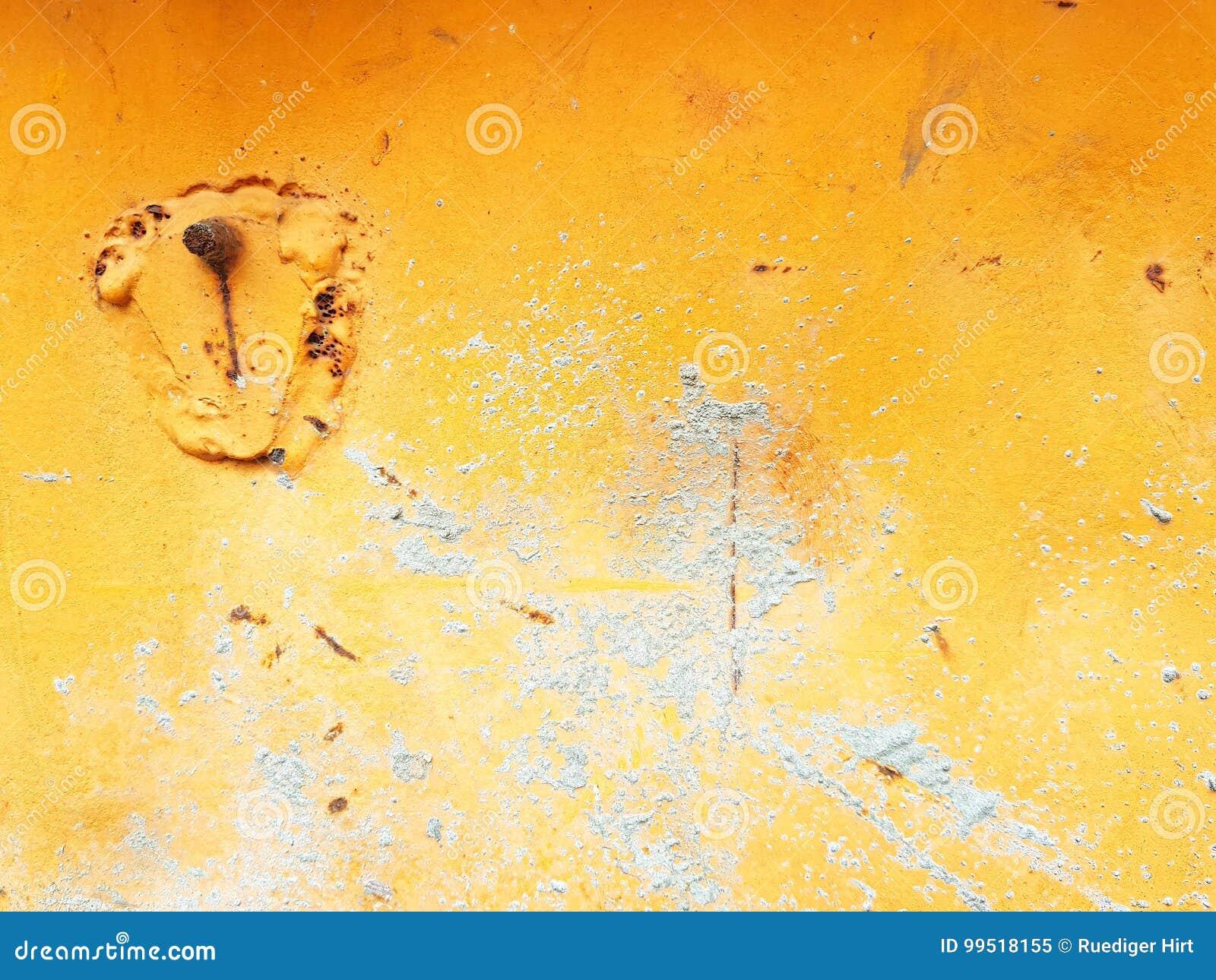 Greey op sinaasappel