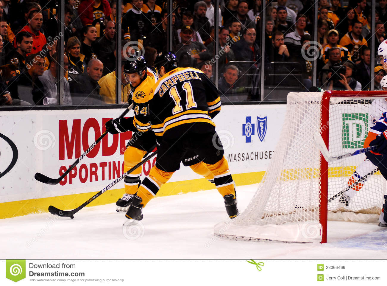 quality design 61674 cbdb7 Greg Campbell And Dennis Seidenberg Boston Bruins Editorial ...