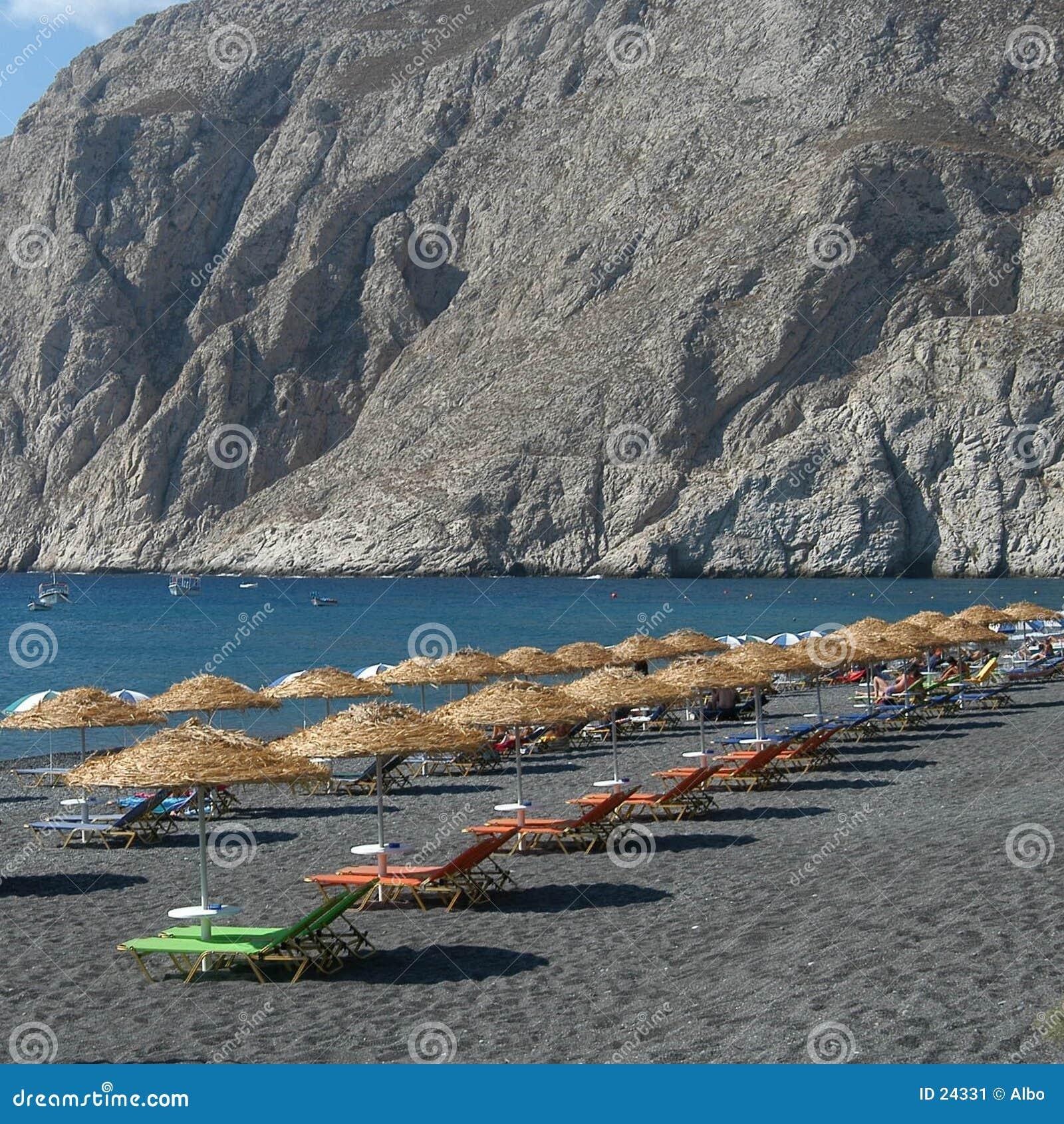 Grek na plaży