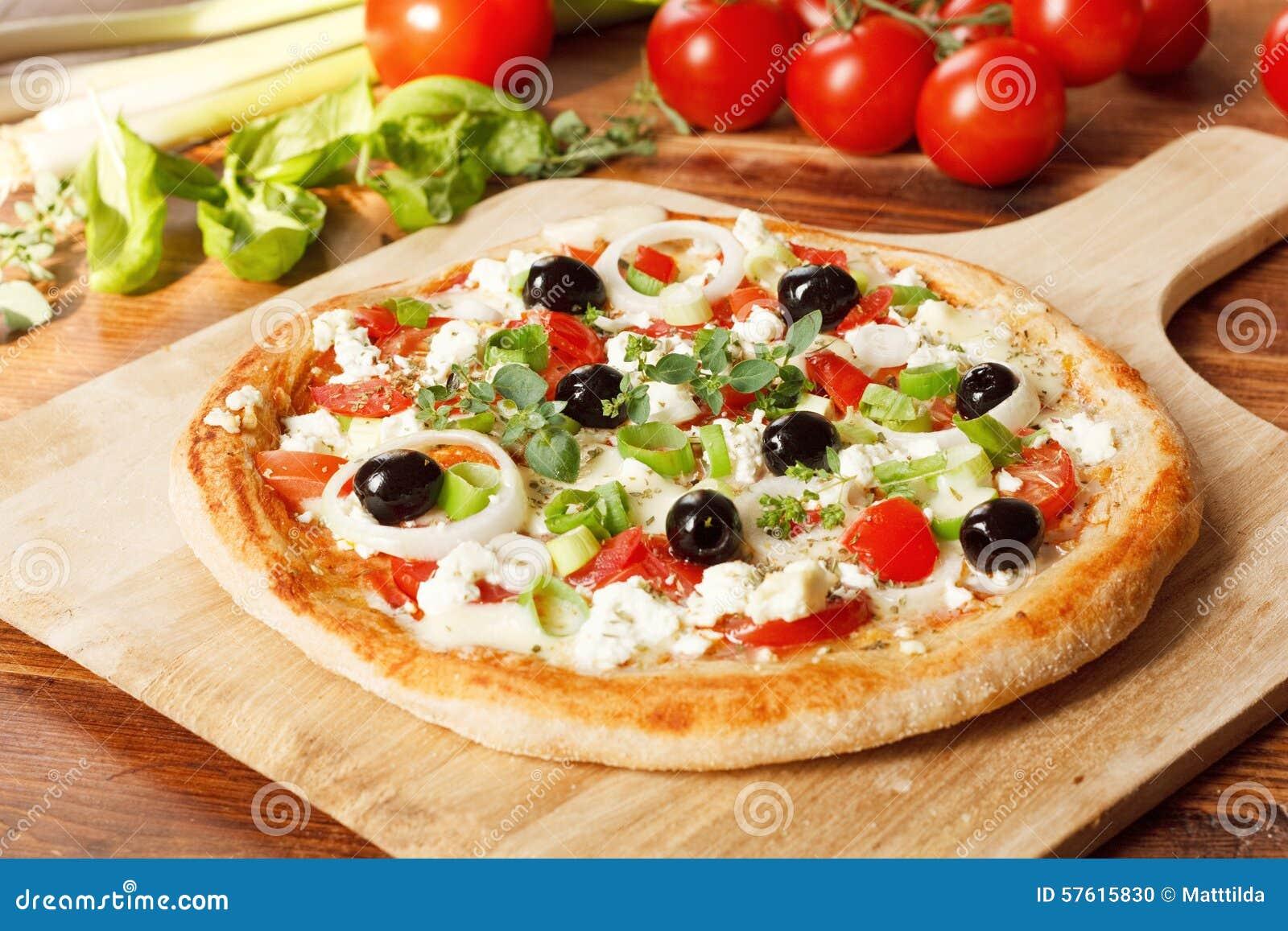 Grekisk pizzastil