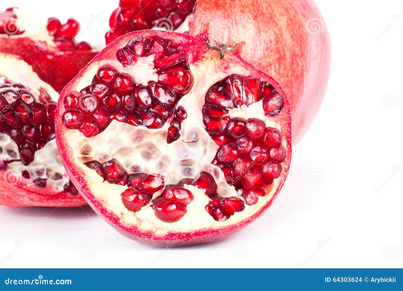 grenade de fruit m re photo stock image du mangez frais 64303624. Black Bedroom Furniture Sets. Home Design Ideas