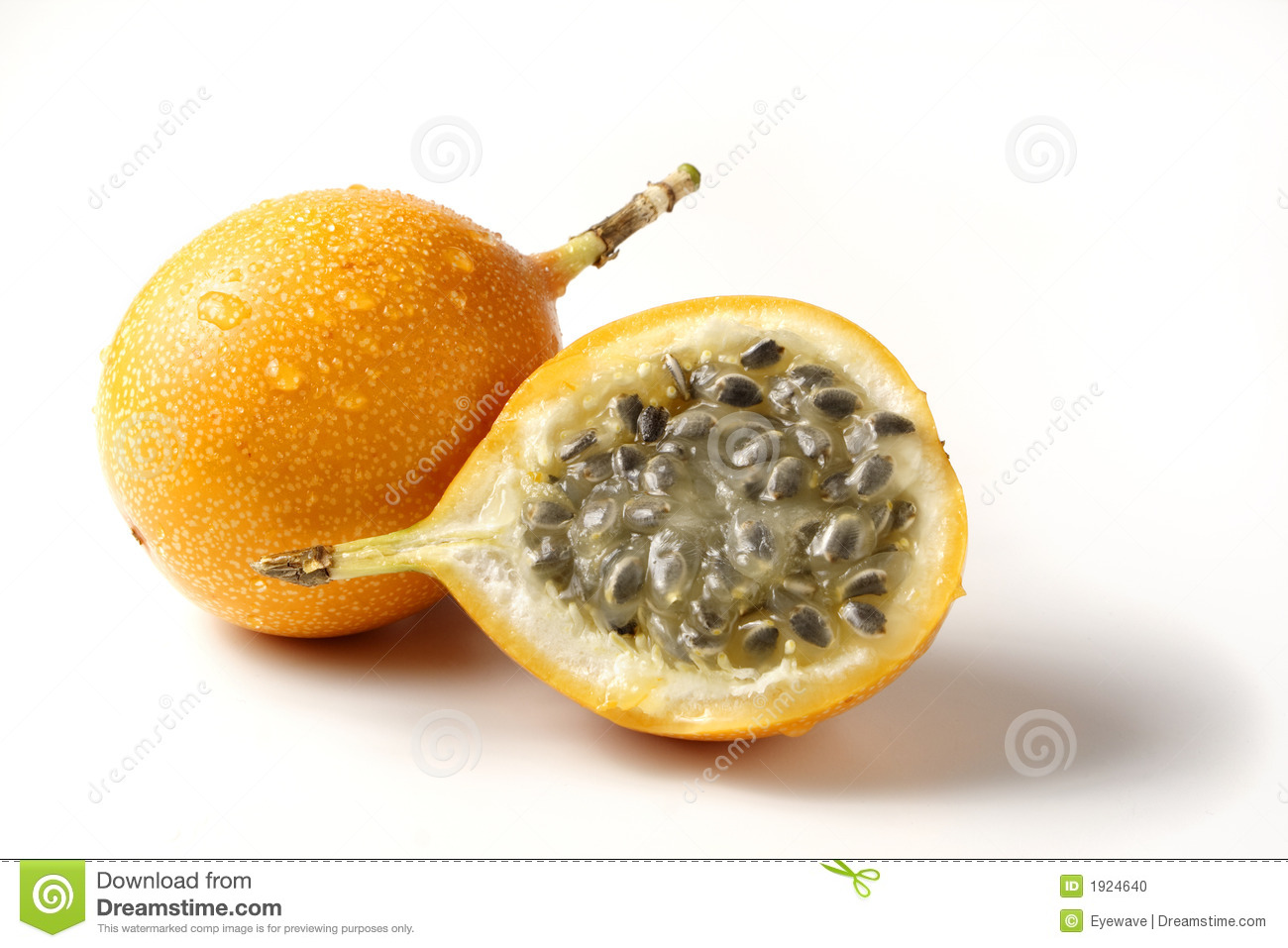 how to eat passion fruit without seeds