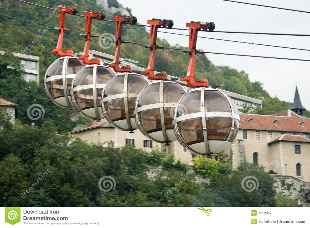 Grenoble s cable car