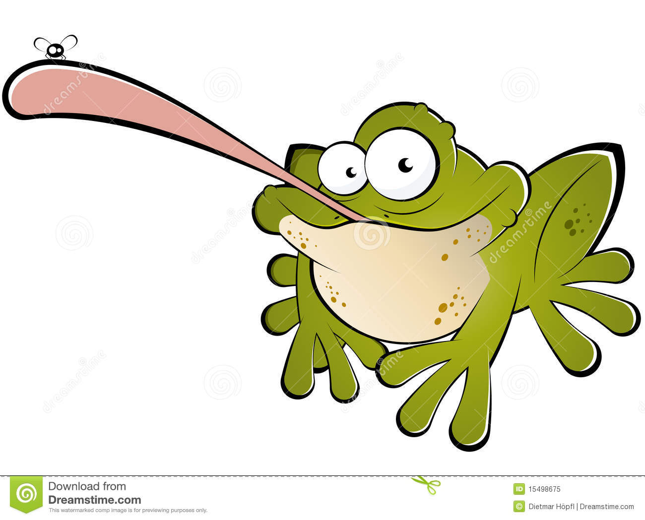 Grenouille Avec L Anomalie Sur La Langue Illustration De Vecteur Illustration Du Langue Grenouille 15498675