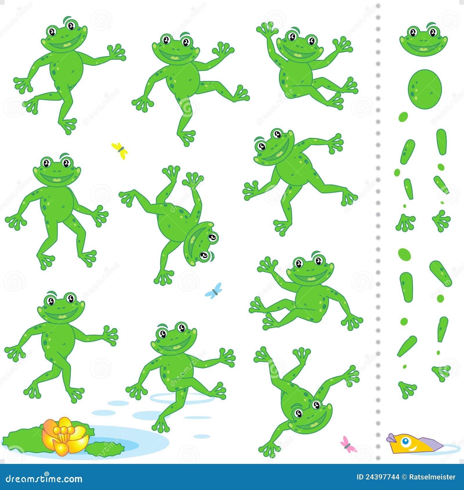 grenouilles ou personnages de dessin anim de crapauds. Black Bedroom Furniture Sets. Home Design Ideas