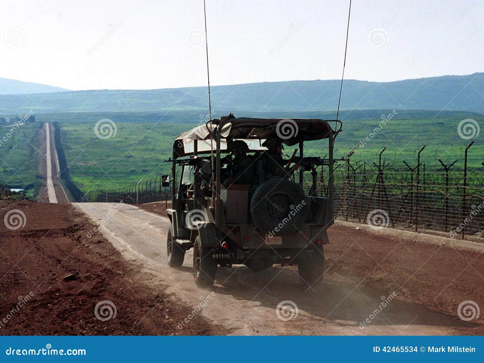 GRENZE ISRAELS DER LIBANON