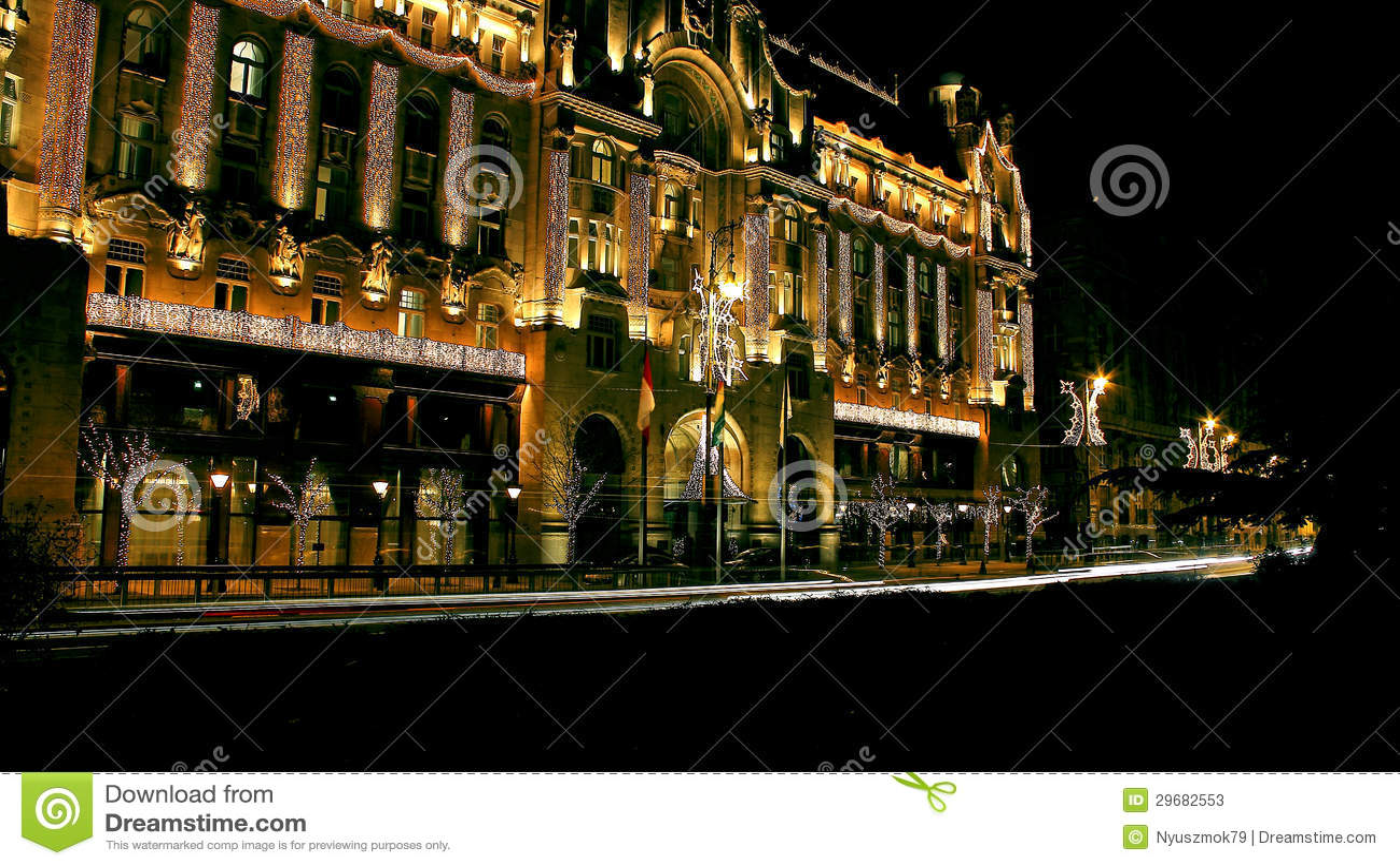 Gresham Palota Cztery sezonów hotel Budapest