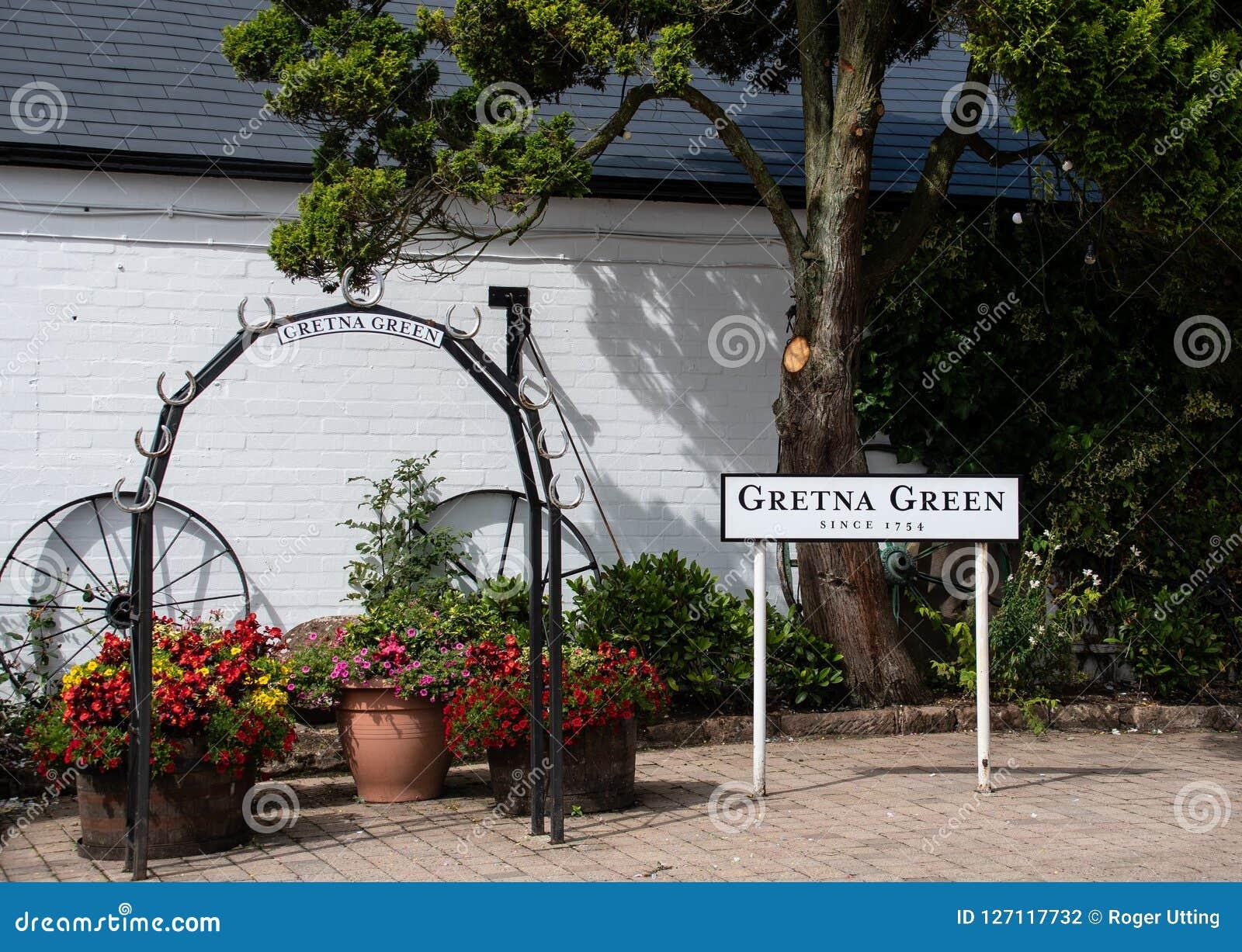 Gretna gräsplan Lucky Arch