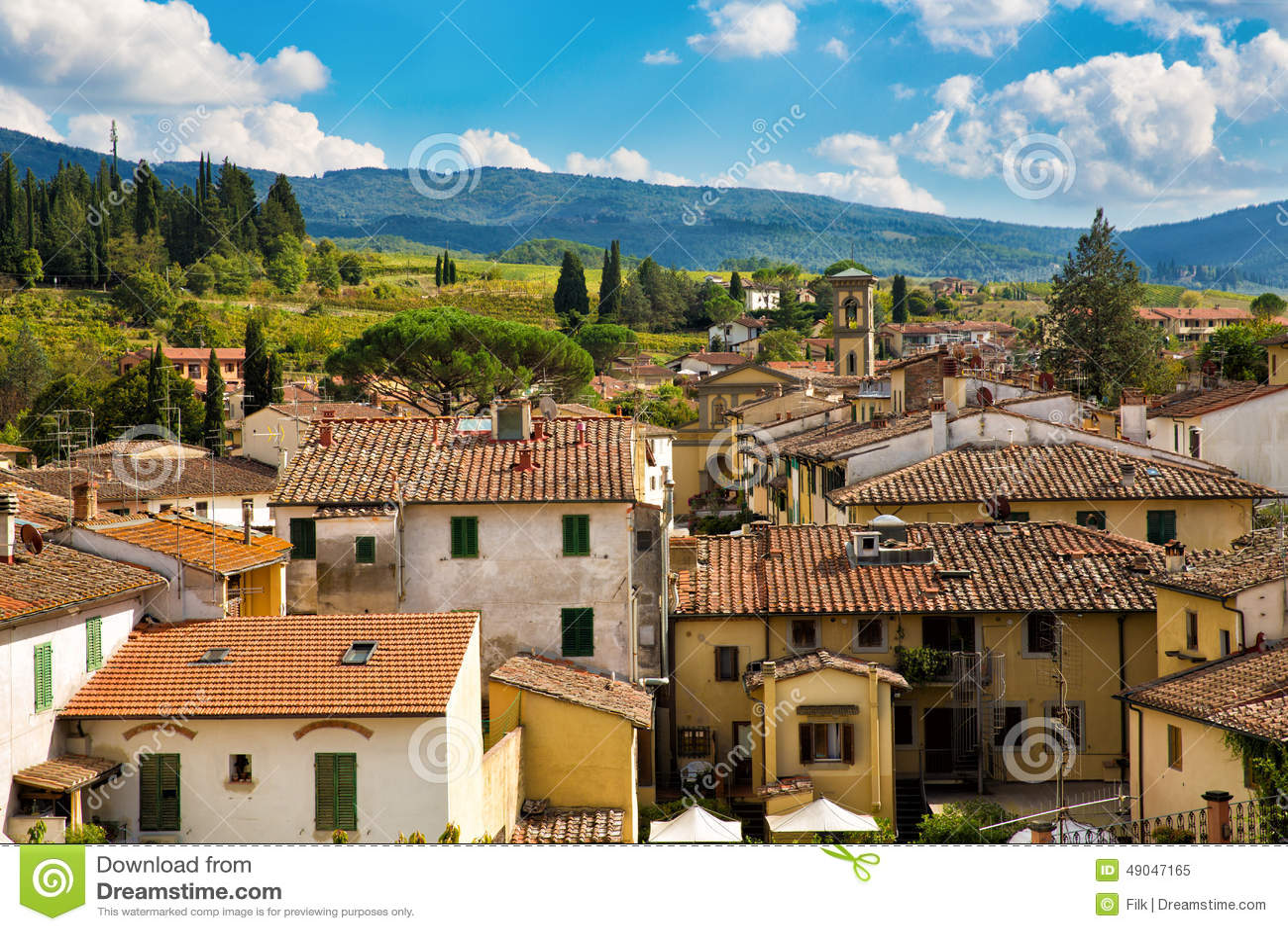 Greve in Chianti cityscape