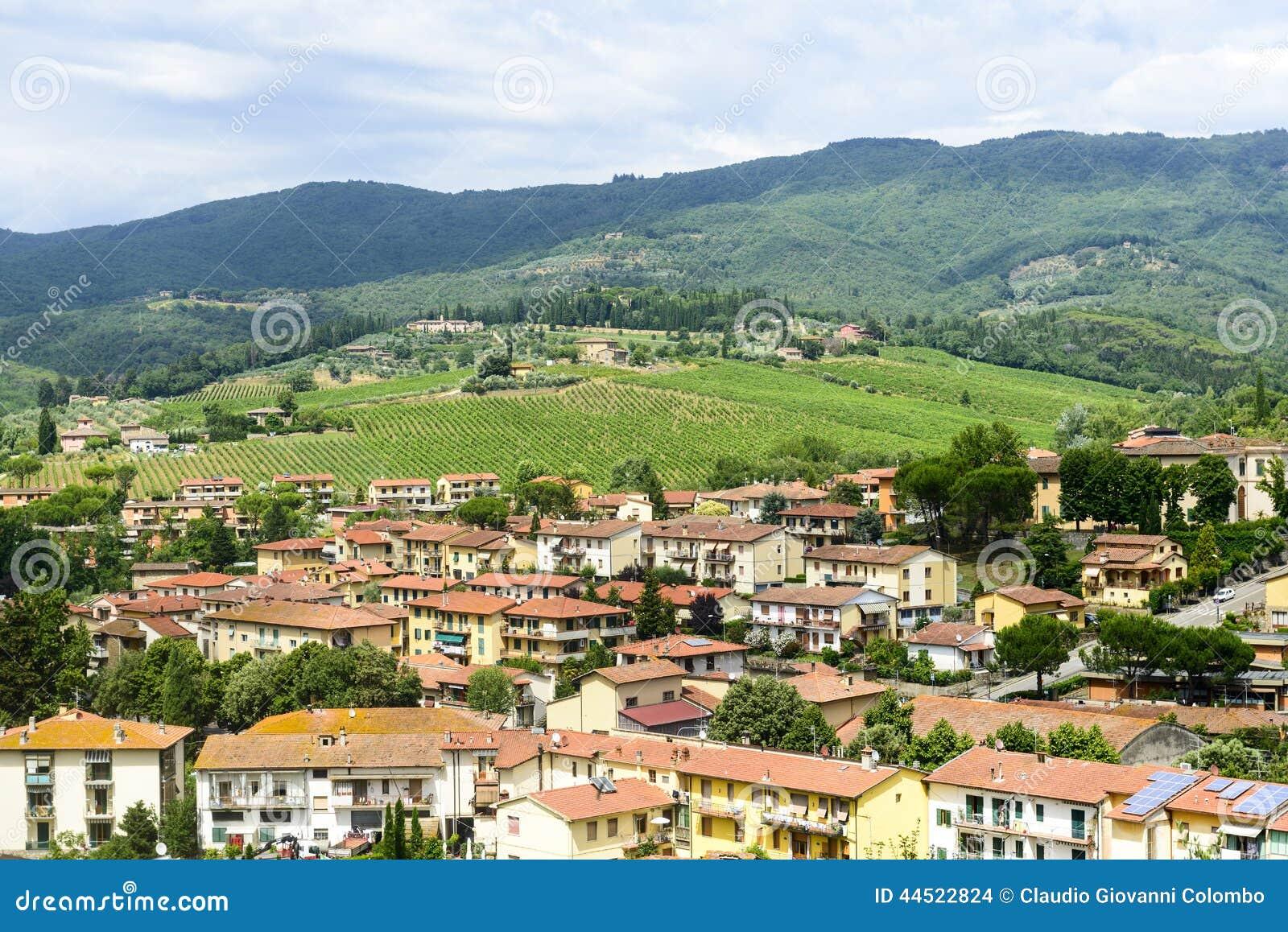 Greve dans le chianti, Toscane