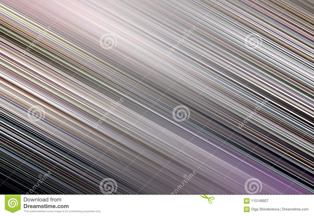Grey Blurred Striped Wallpaper For Web Site Stock Illustration