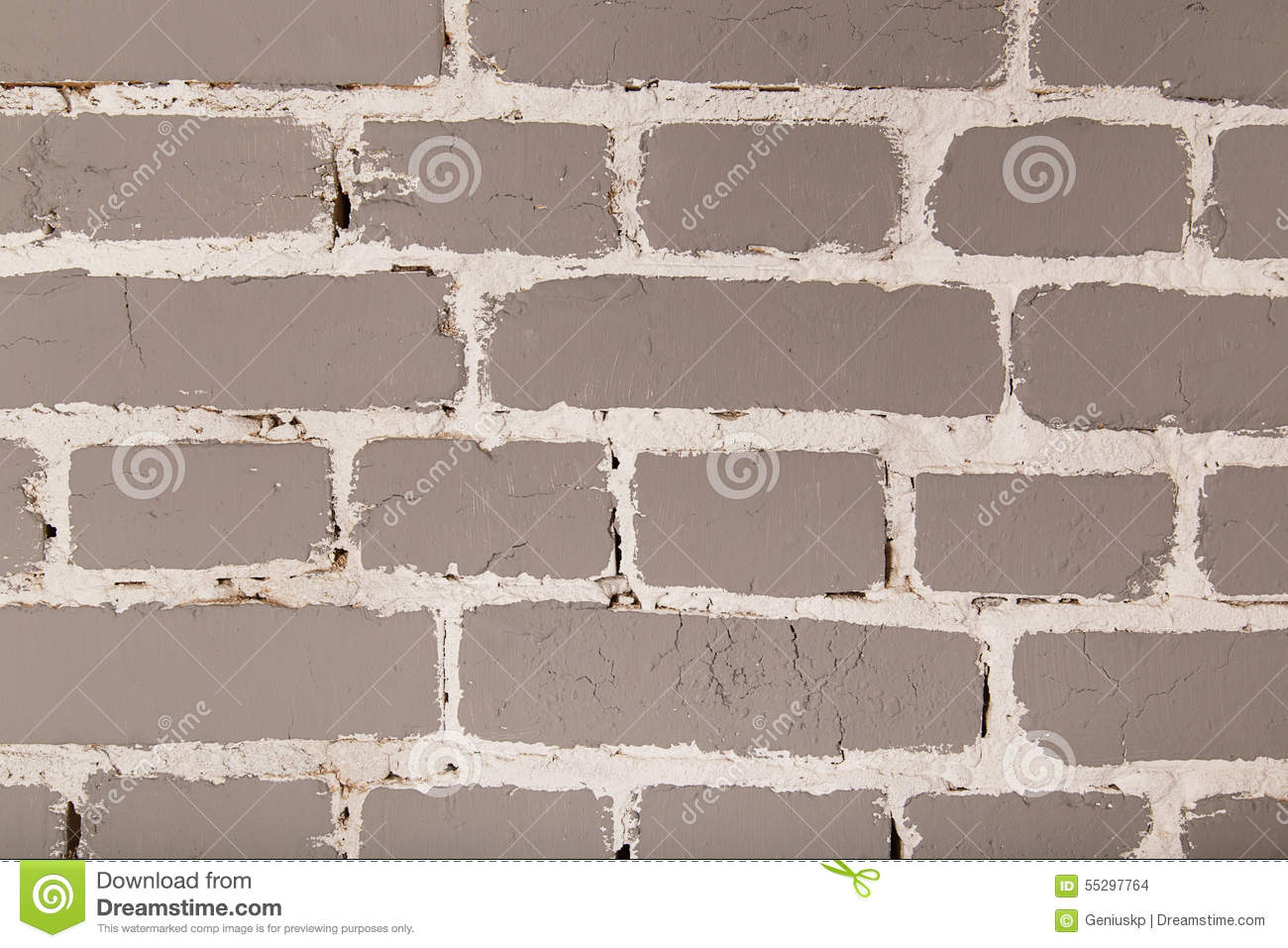 Gray Cartoon Brick Wall Texture : Grey brick wall for wallpaper stock photography