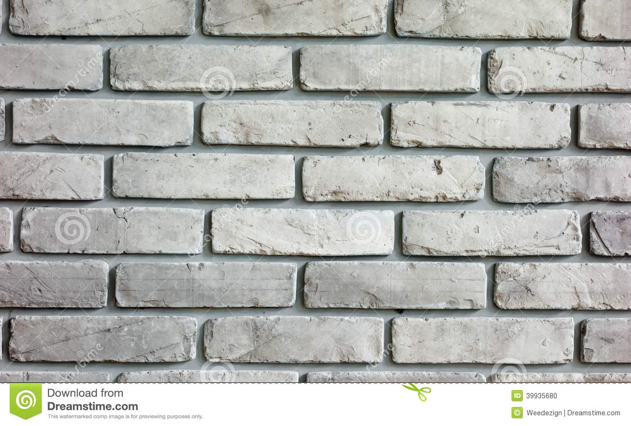 Gray Cartoon Brick Wall Texture : Grey brick wall background texture stock photo image