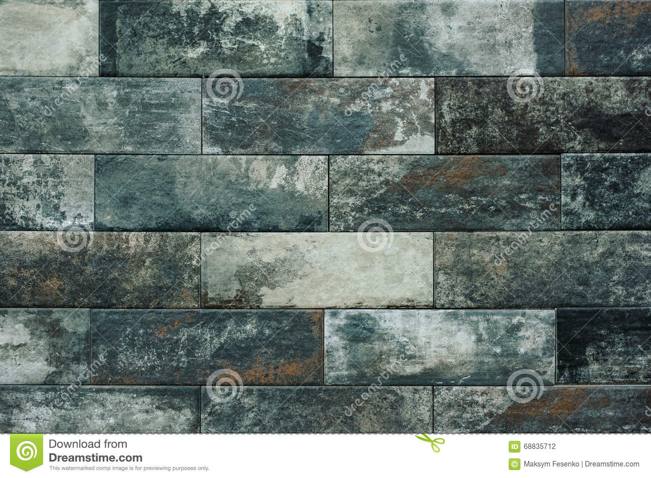 Gray Cartoon Brick Wall Texture : Grey tiled brick wall texture background stock photography