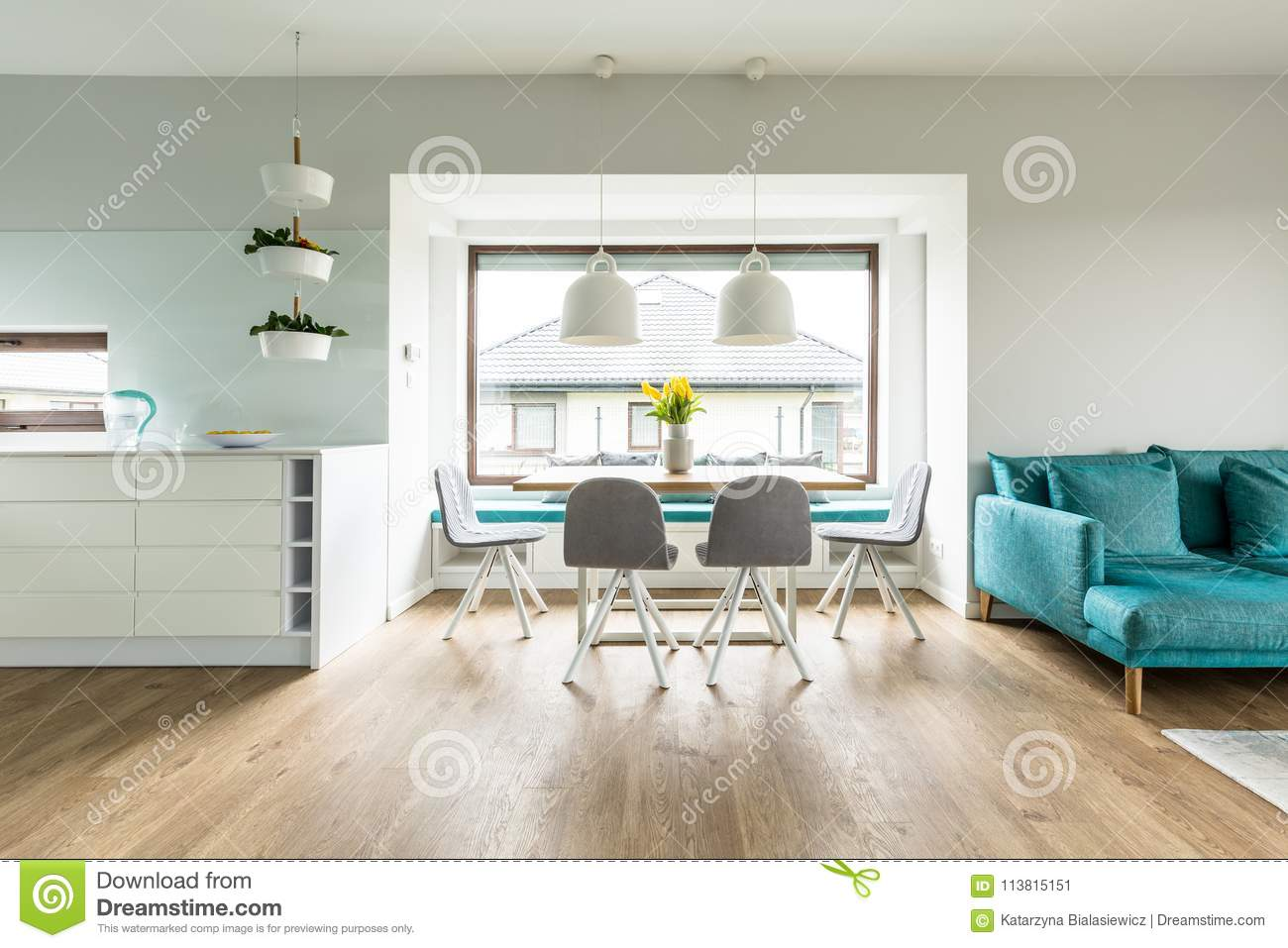 Peachy Grey Chairs In White Apartment Stock Image Image Of Sofa Pabps2019 Chair Design Images Pabps2019Com