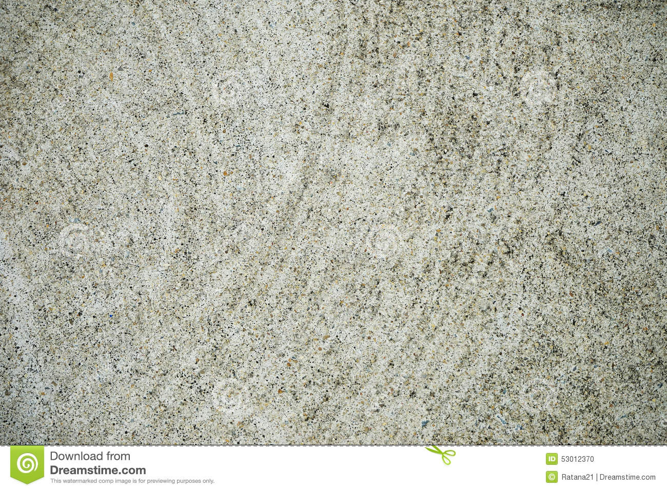 Grey Concrete Floor Surface Top View