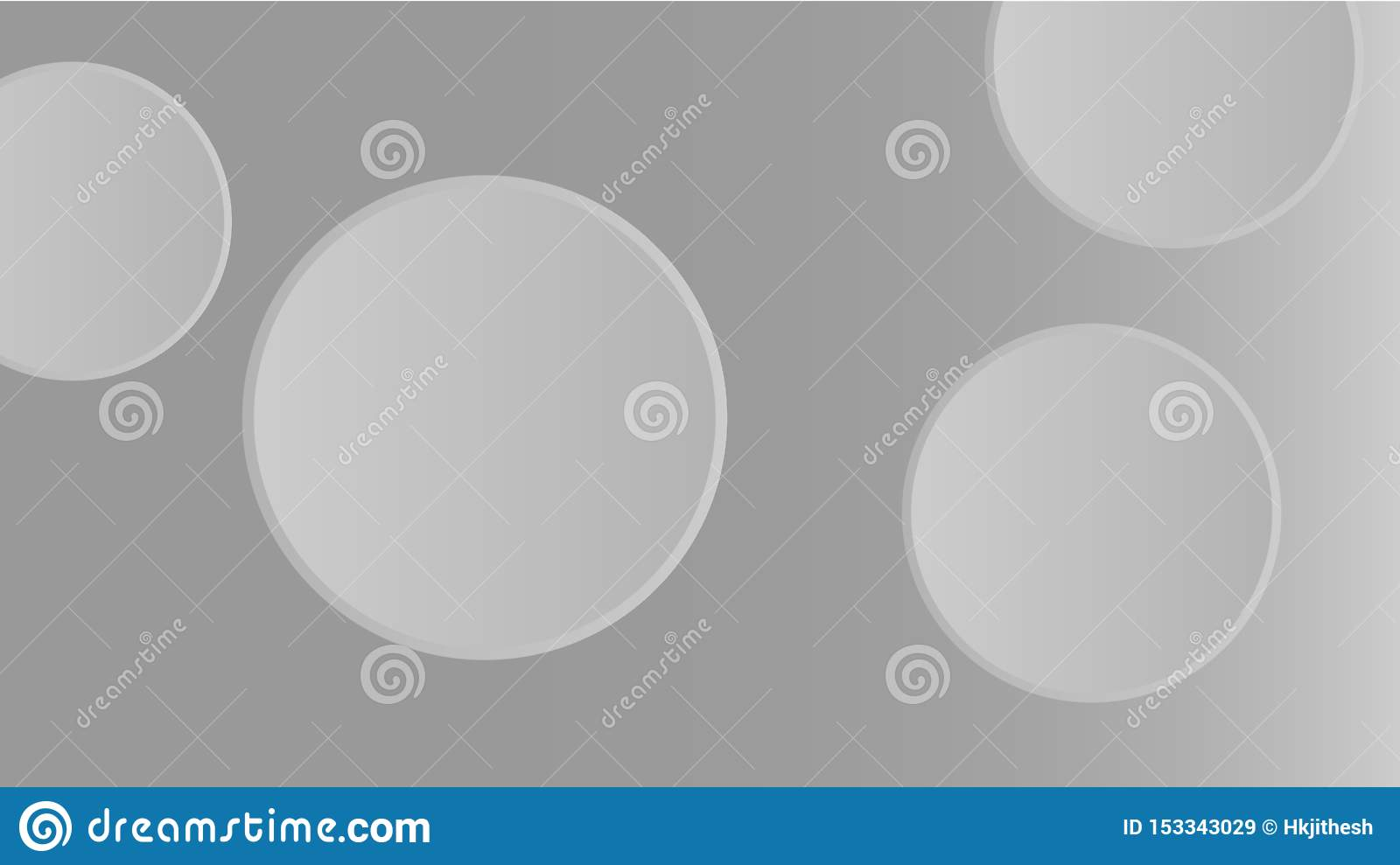 Grey 3D abstract wallpaper | round shapes